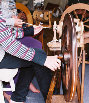 worsted, spinning, wensleydale